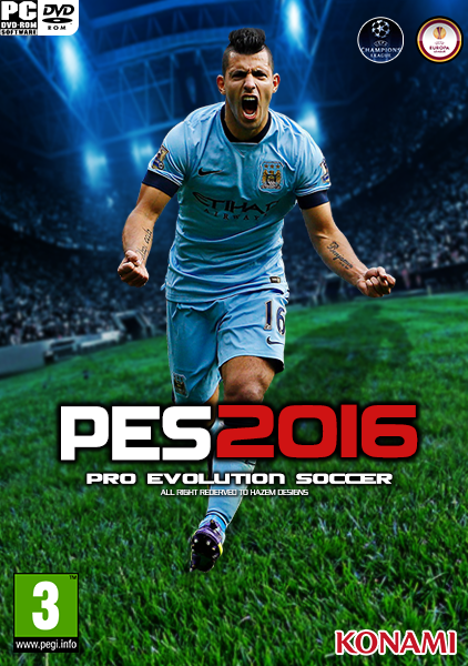 Cover PES 2016 / Pro Evolution Soccer 2016