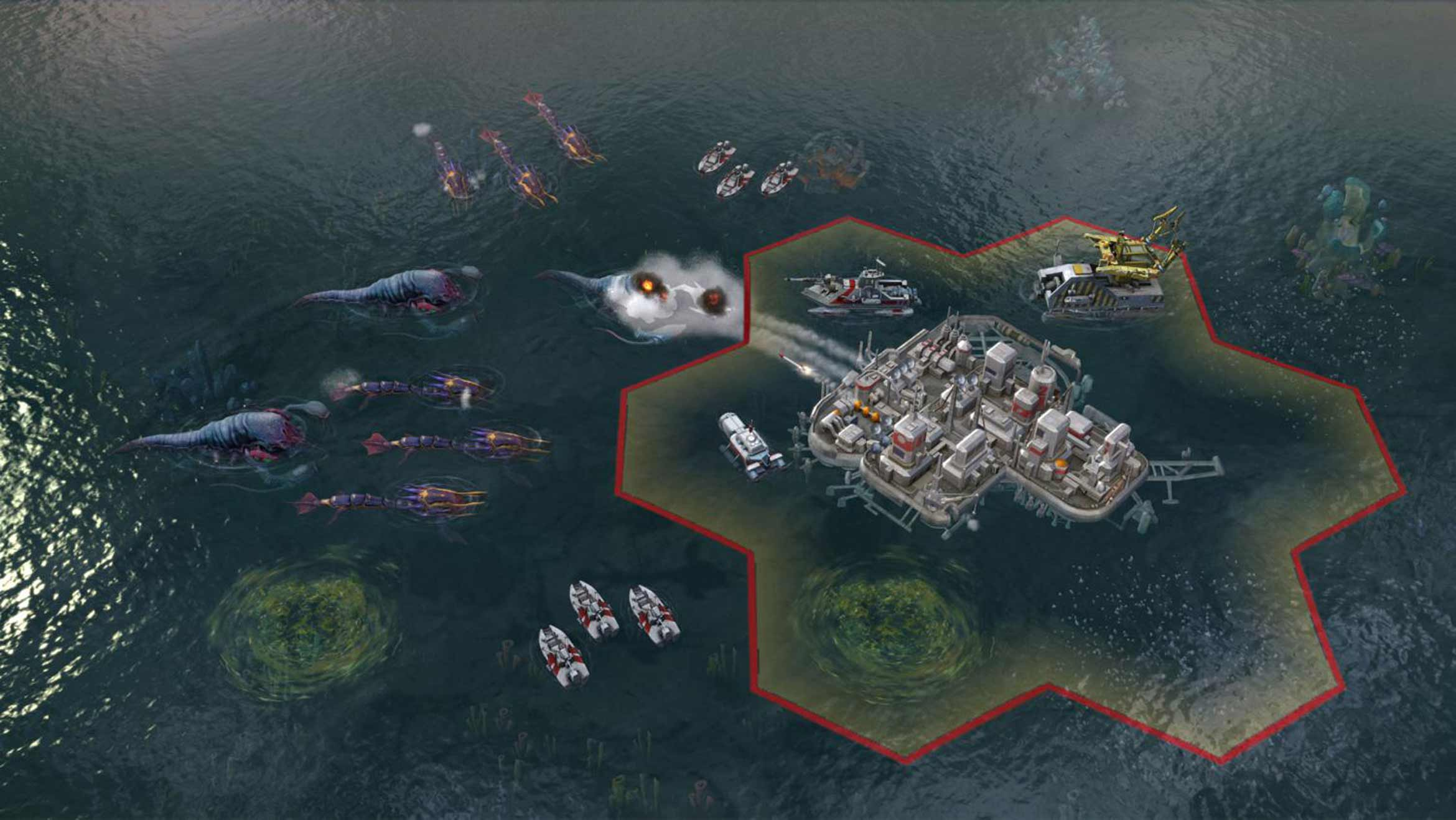 Screenshot for the game Sid Meier's Civilization: Beyond Earth Rising Tide [v 1.1.2.4035 + 2 DLC] (2014) PC | RePack by R.G. Mechanics