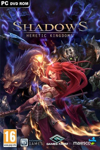 Poster Shadows: Heretic Kingdoms - Book One. Devourer of Souls (2014)