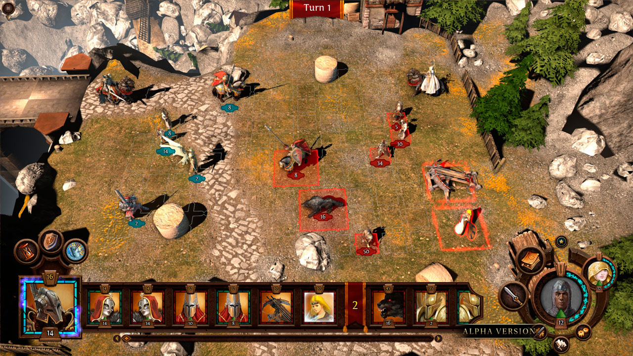 Screenshot for the game Heroes of Might and Magic 7 / Might and Magic Heroes VII: Deluxe Edition [v 1.60] (2015) PC | RePack by R.G. Mechanics