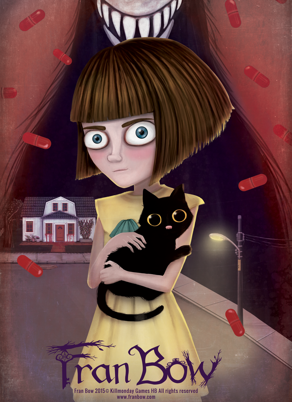 Cover Fran Bow [Update 3] (2015) PC | RePack от R.G. Механики