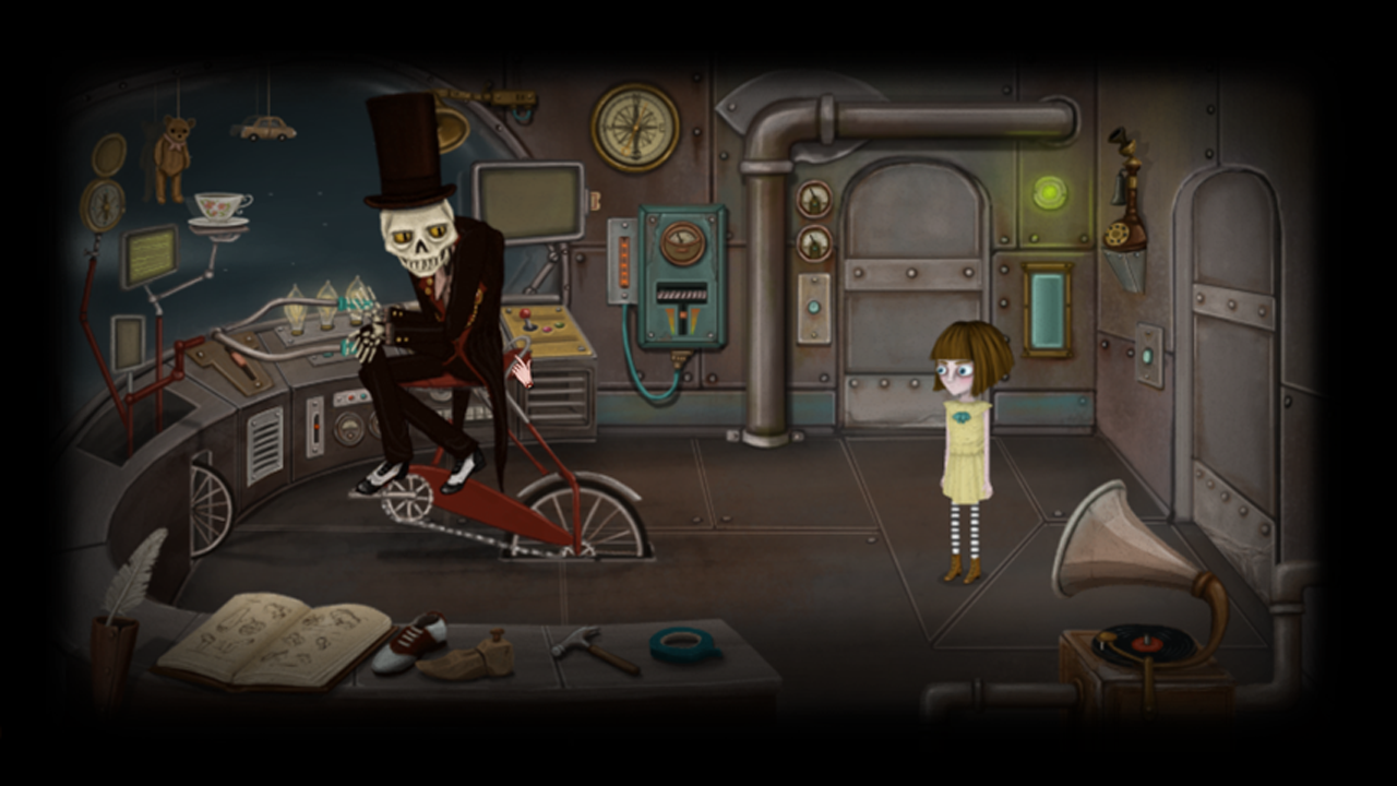 Screenshot for the game Fran Bow [Update 3] (2015) PC | RePack от R.G. Механики
