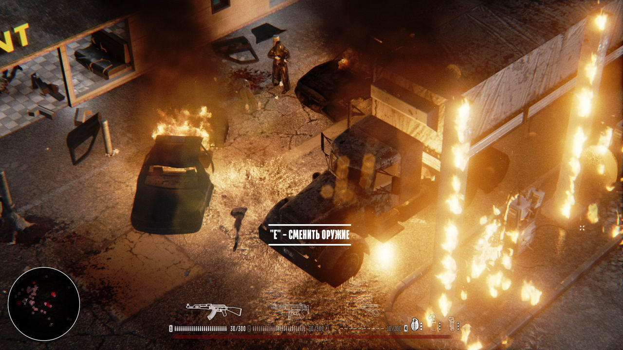 Screenshot for the game Hatred [Update 12 + 1 DLC] (2015) PC | RePack от R.G. Механики