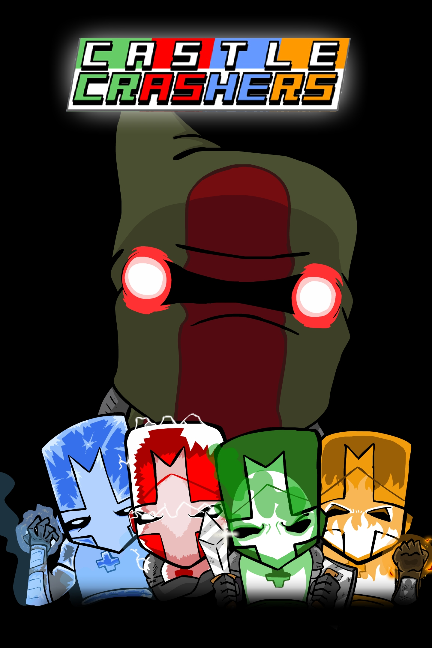 Poster Castle Crashers (2012)