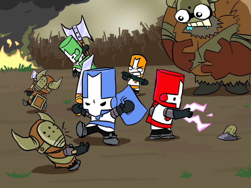 Screenshot for the game Castle Crashers (2012) PC | RePack от R.G. Механики