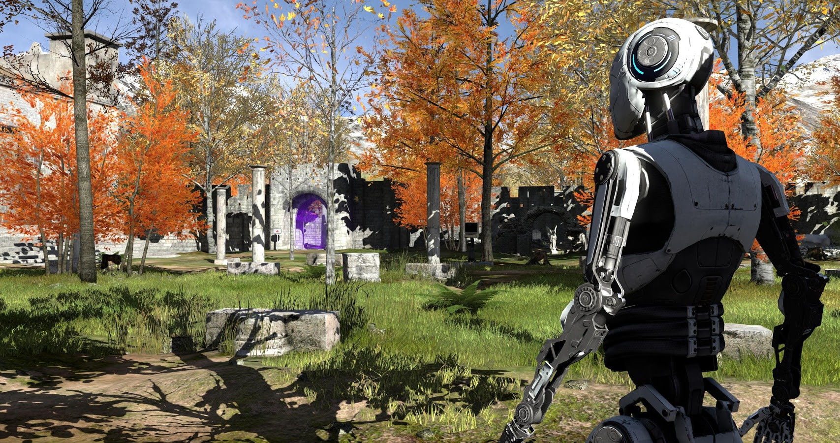 Screenshot for the game The Talos Principle [v 244371 + 3 DLC] (2014) PC | RePack от R.G. Механики