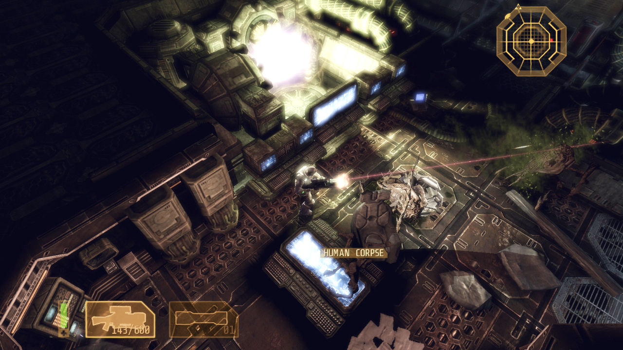 Screenshot for the game Alien Breed: Trilogy (2010) PC | RePack от R.G. Механики