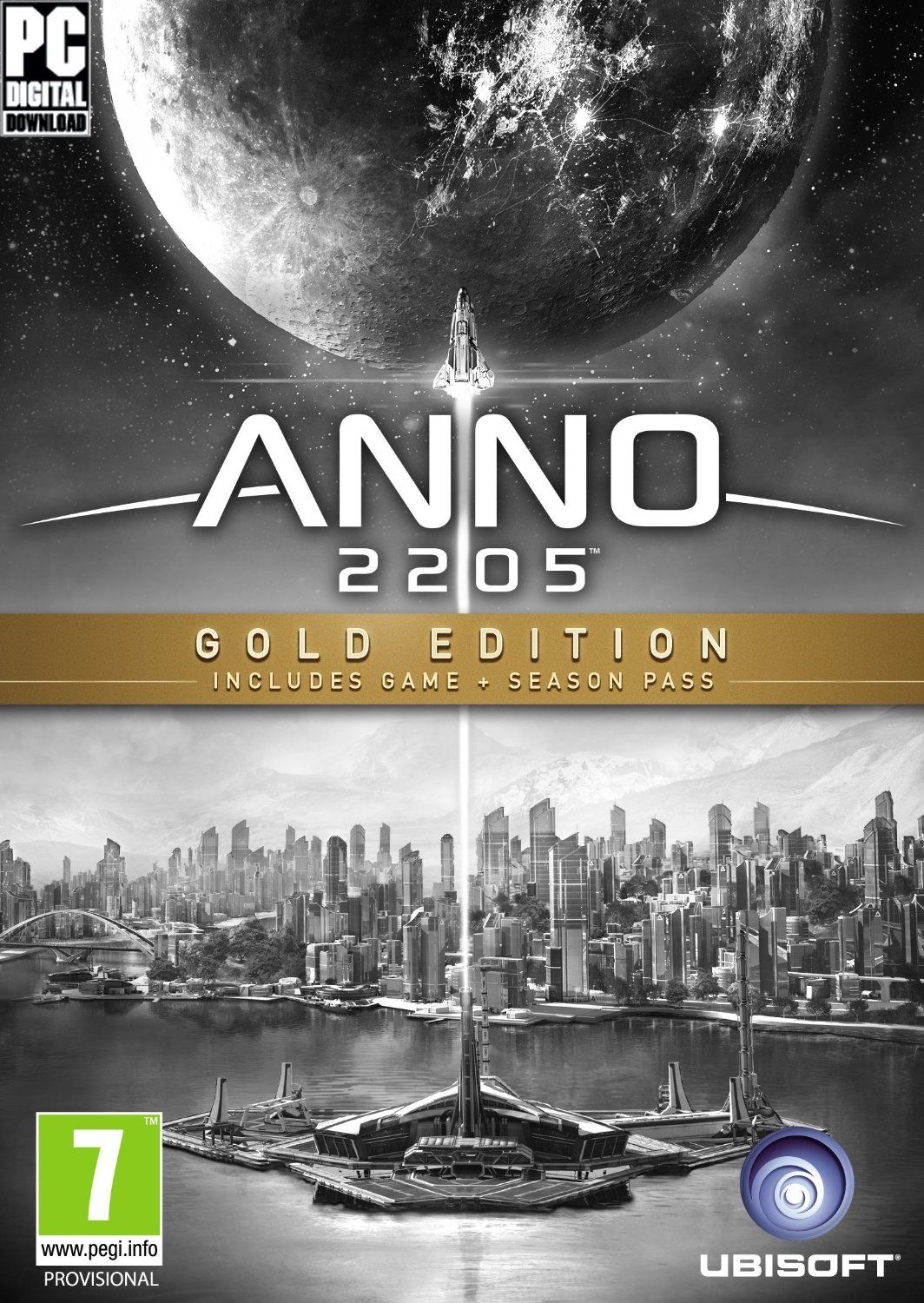 Cover Anno 2205: Gold Edition (2015) PC | RePack от R.G. Механики