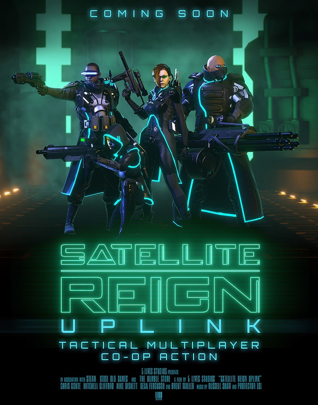Cover Satellite Reign