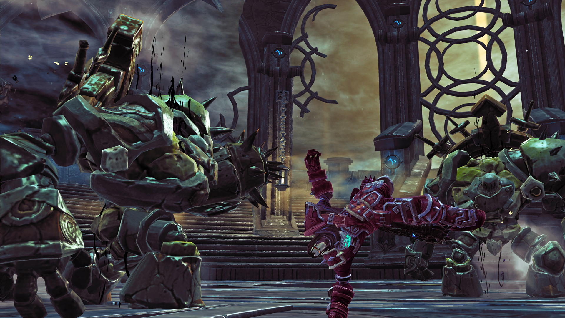 Screenshot for the game Darksiders 2: Deathinitive Edition [Update 2] (2015) PC | RePack от R.G. Механики