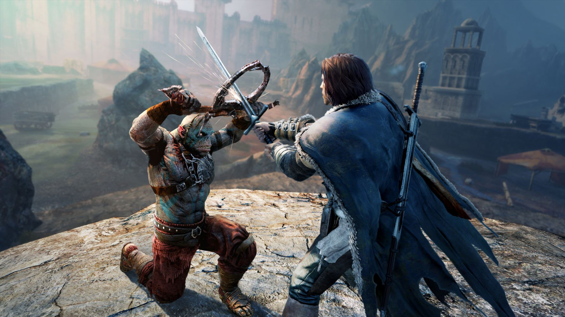 Screenshot for the game Middle-Earth: Shadow of Mordor - Game of the Year Edition [Update 8] (2014) PC | Repack от R.G. Механики