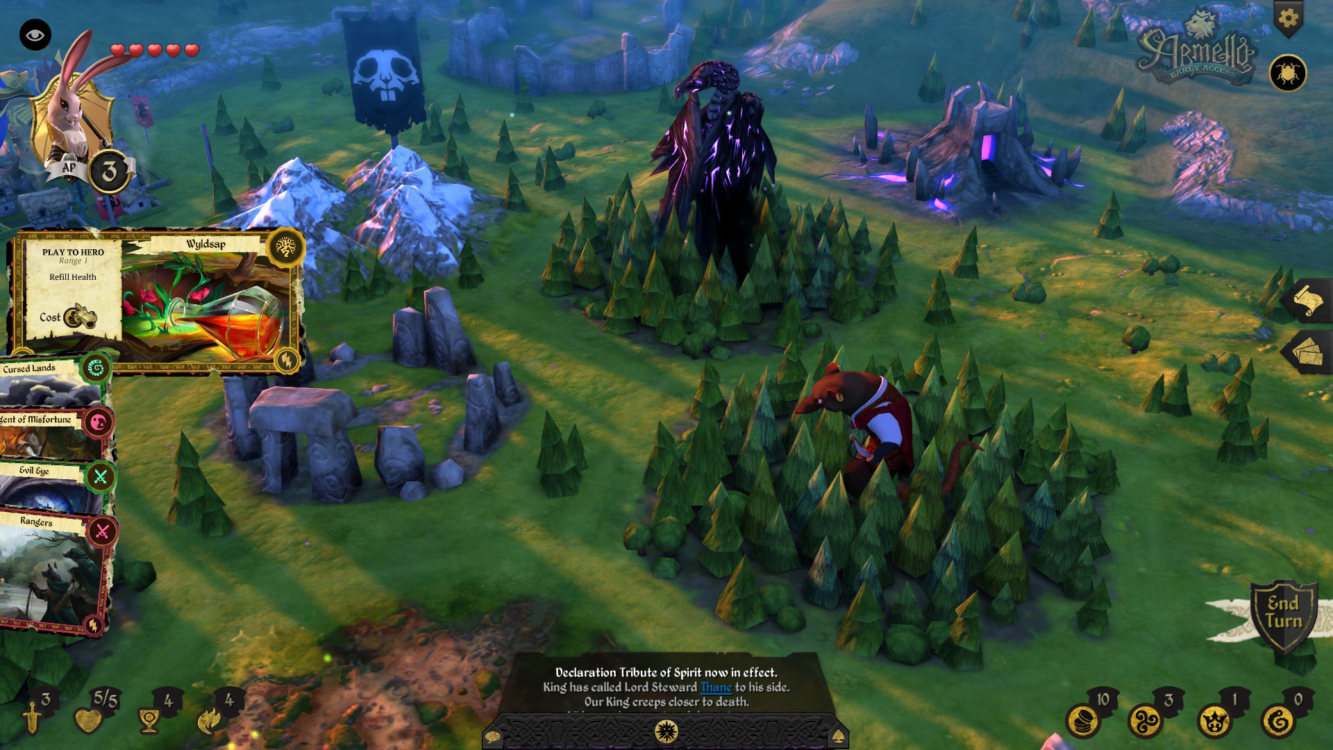 Screenshot for the game Armello [v 1.7 + 2 DLC] (2015) PC | RePack от R.G. Механики