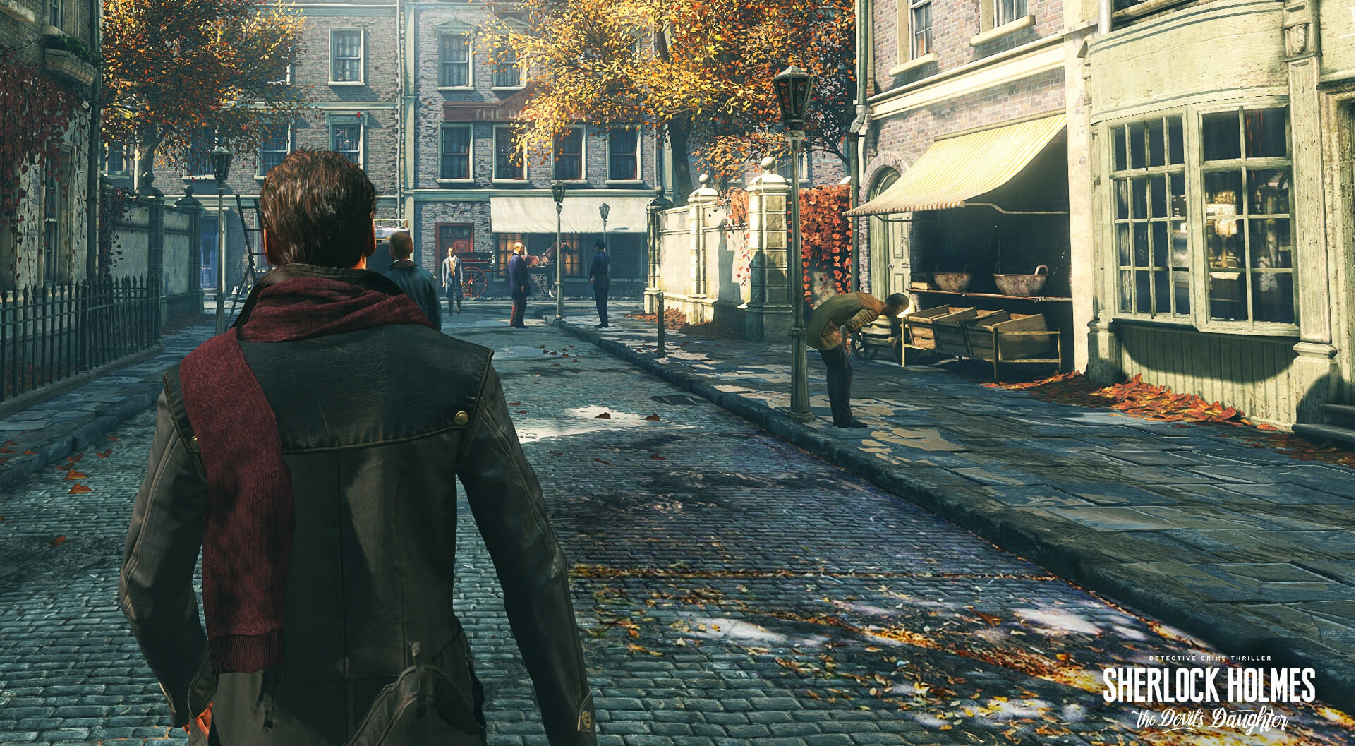 Screenshot for the game Sherlock Holmes: The Devil's Daughter (2016) PC | Repack от R.G. Механики