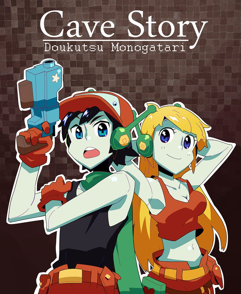 Poster Cave Story+ (2011)