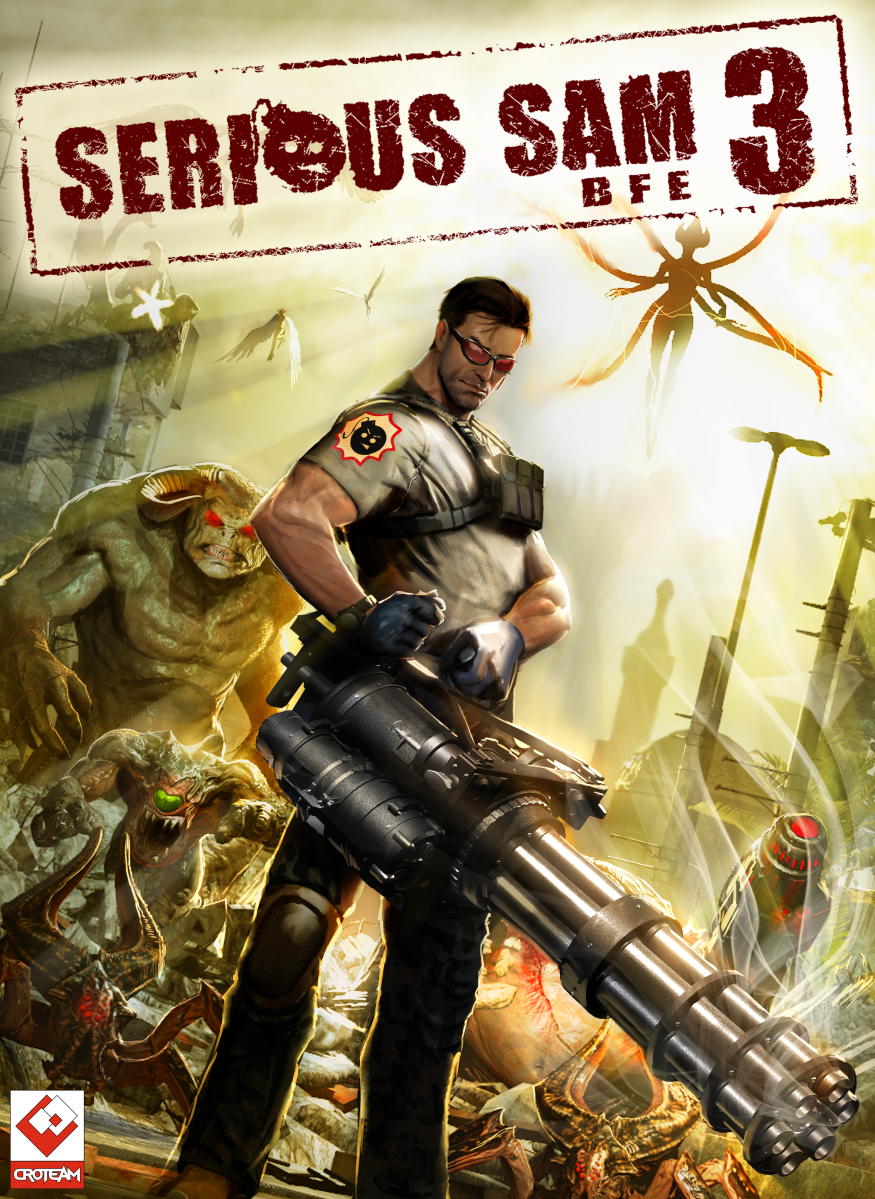 Cover Крутой Сэм 3: BFE / Serious Sam 3: BFE (2011) PC | RePack от R.G. Механики
