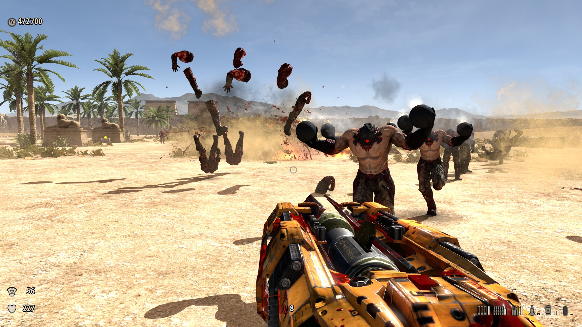 Screenshot for the game Крутой Сэм 3: BFE / Serious Sam 3: BFE (2011) PC | RePack от R.G. Механики