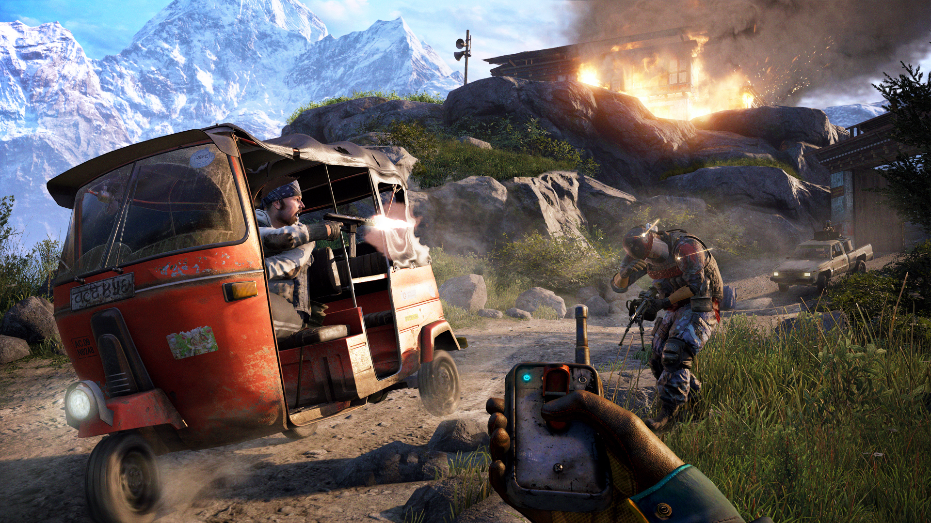 Screenshot for the game Far Cry 4 [v 1.10 + DLC's] (2014) PC | RePack от R.G. Механики