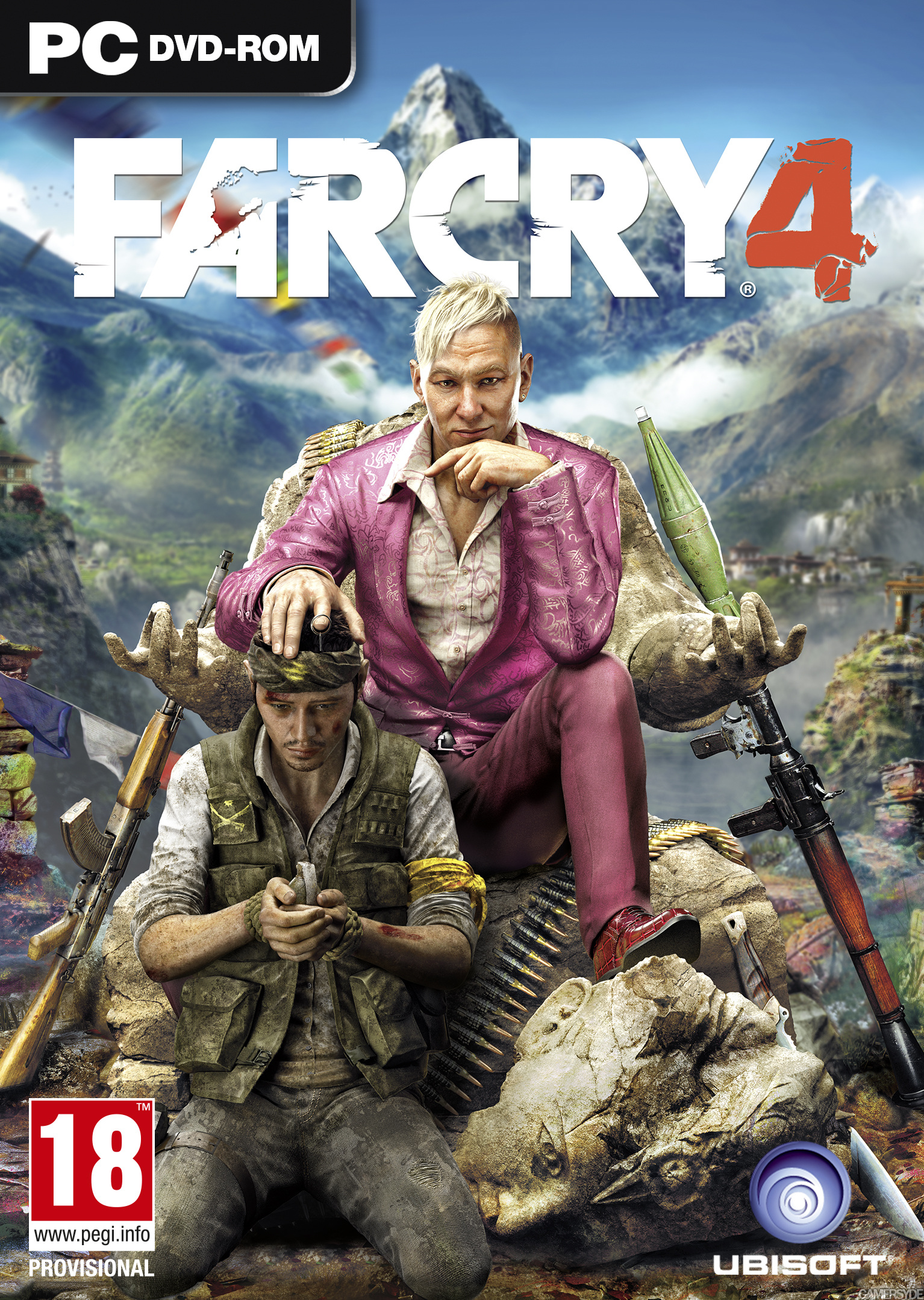 Cover Far Cry 4 [v 1.10 + DLC's] (2014) PC | RePack от R.G. Механики