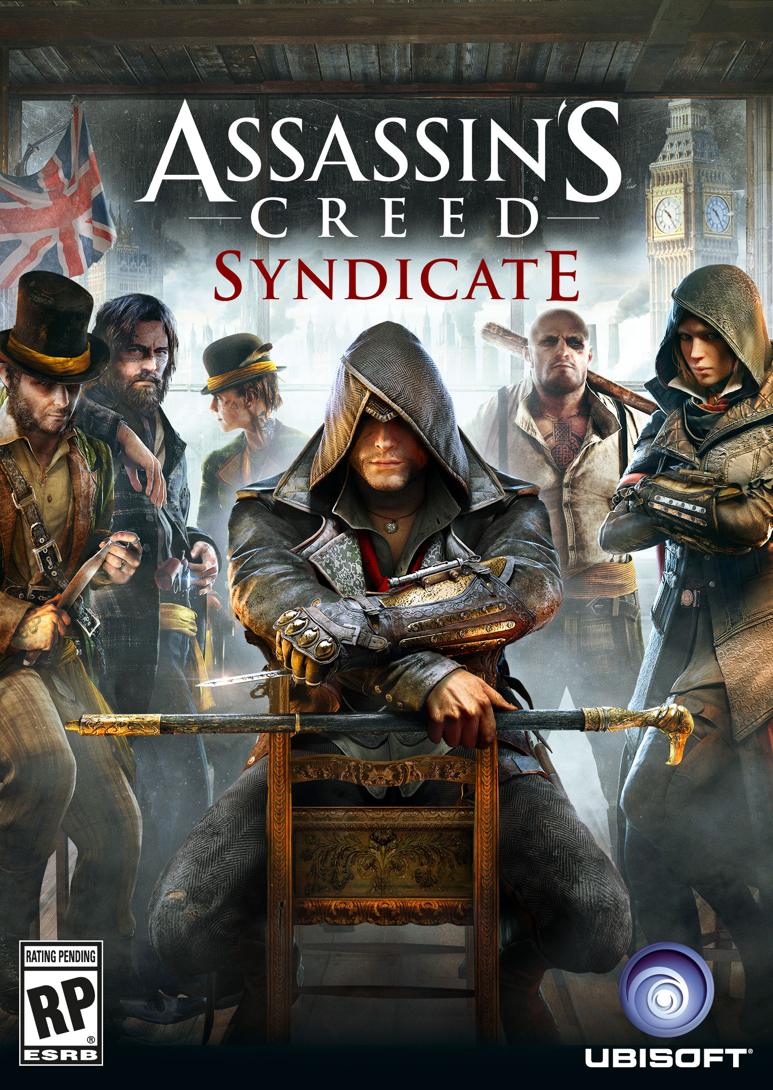 Cover Assassin's Creed: Syndicate - Gold Edition [Update 1] (2015) PC | RePack от R.G. Механики