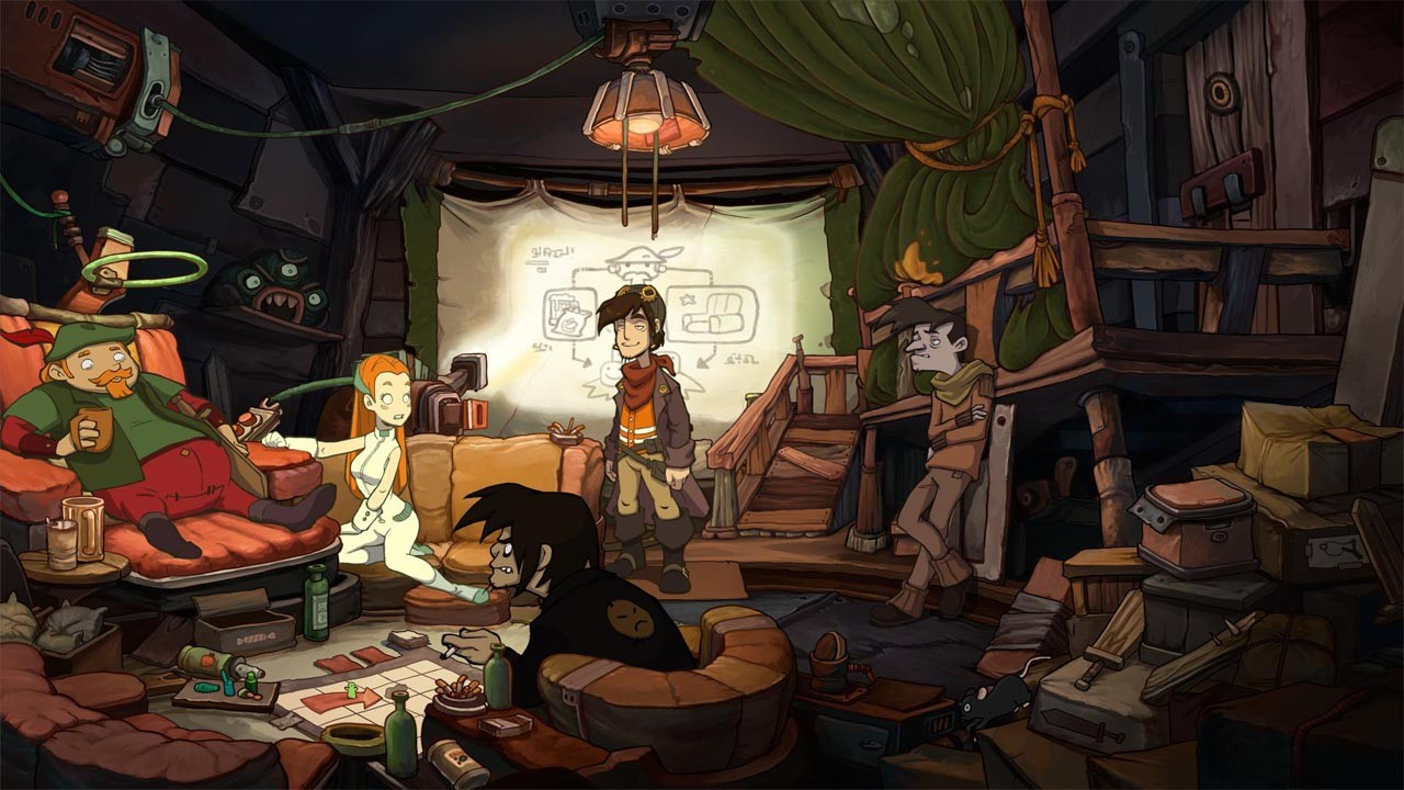 Screenshot for the game Deponia: The Complete Journey (2014) PC | RePack от R.G. Механики