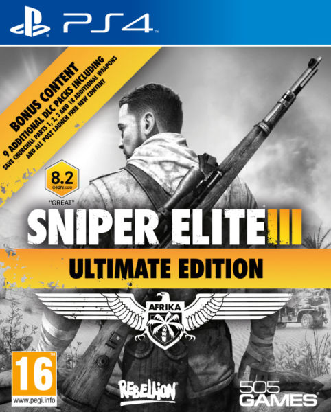Cover Sniper Elite 3: Ultimate Edition (2014) PC | RePack от R.G. Механики