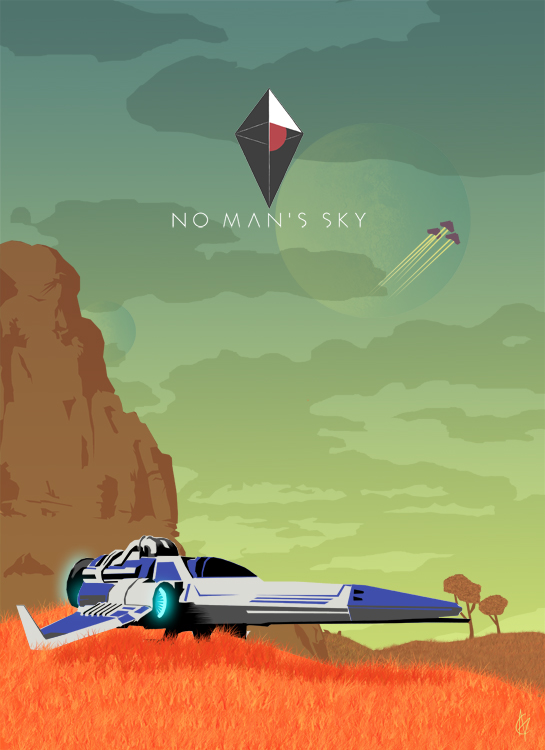 Cover No Man's Sky [v 1.24] (2016) PC | RePack от R.G. Механики