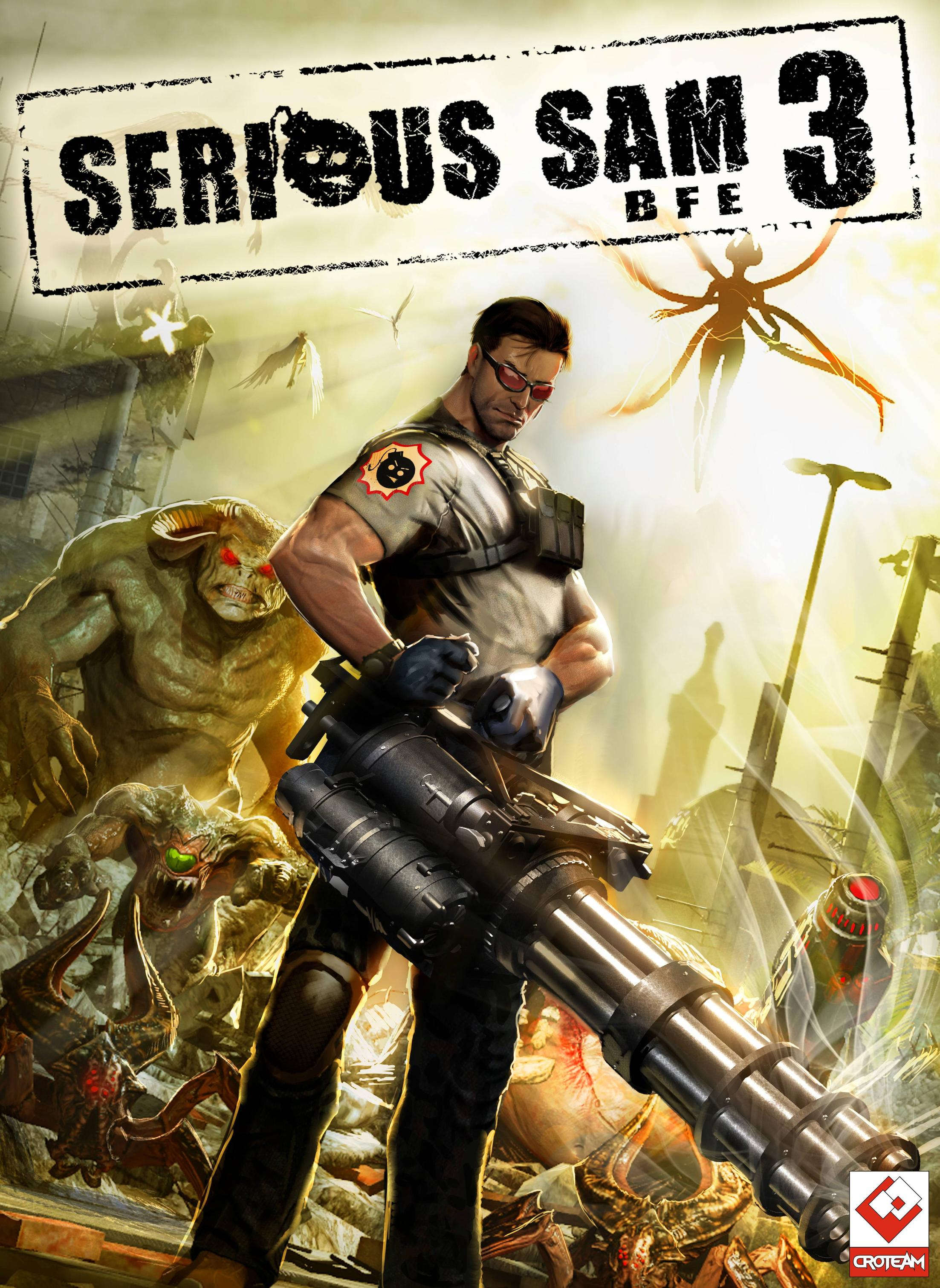 Cover Serious Sam - Anthology / Serious Sam - Антология (2001-2013) PC | RePack от R.G. Механики
