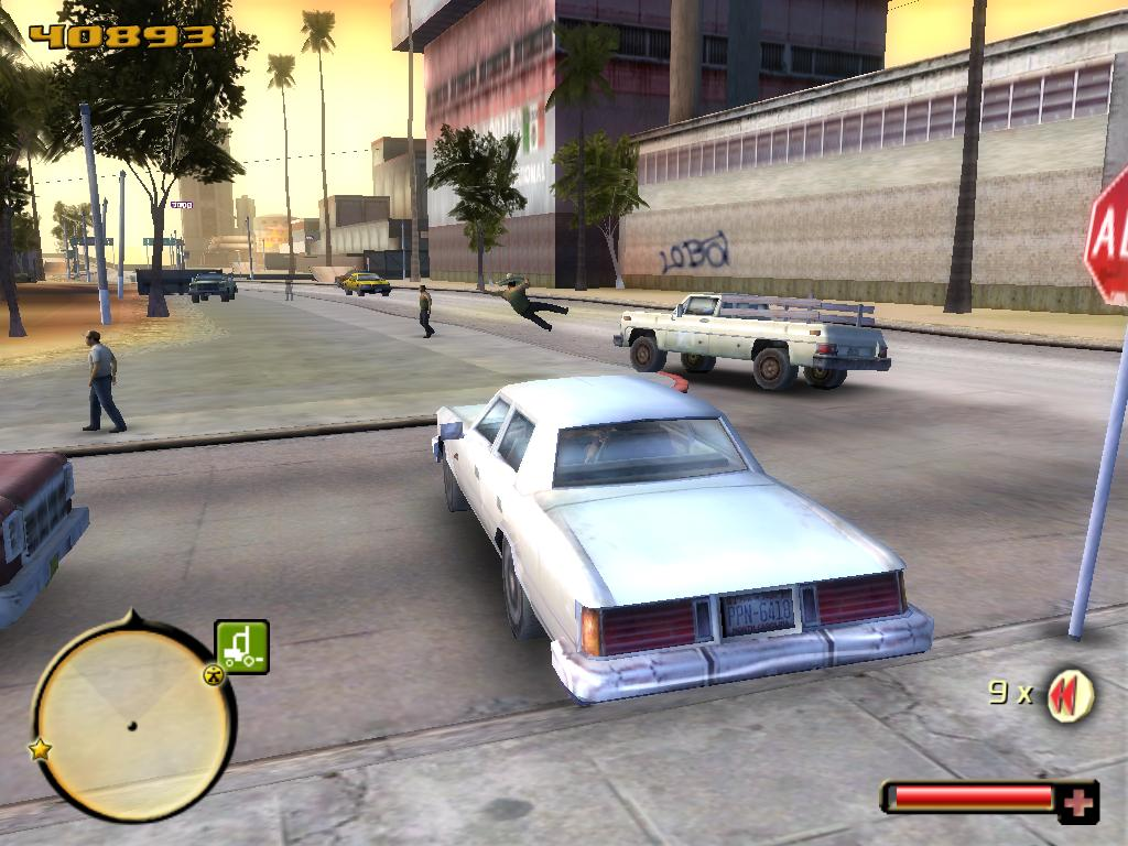 Screenshot for the game Total Overdose (2005) PC | RePack от R.G. Механики