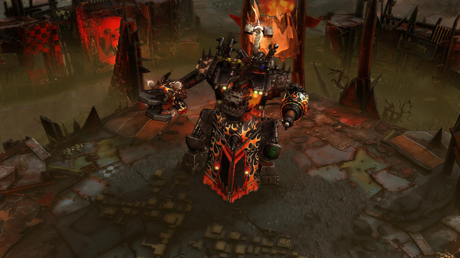 Screenshot for the game Warhammer 40,000: Dawn of War III (2017) PC | RePack от R.G. Механики