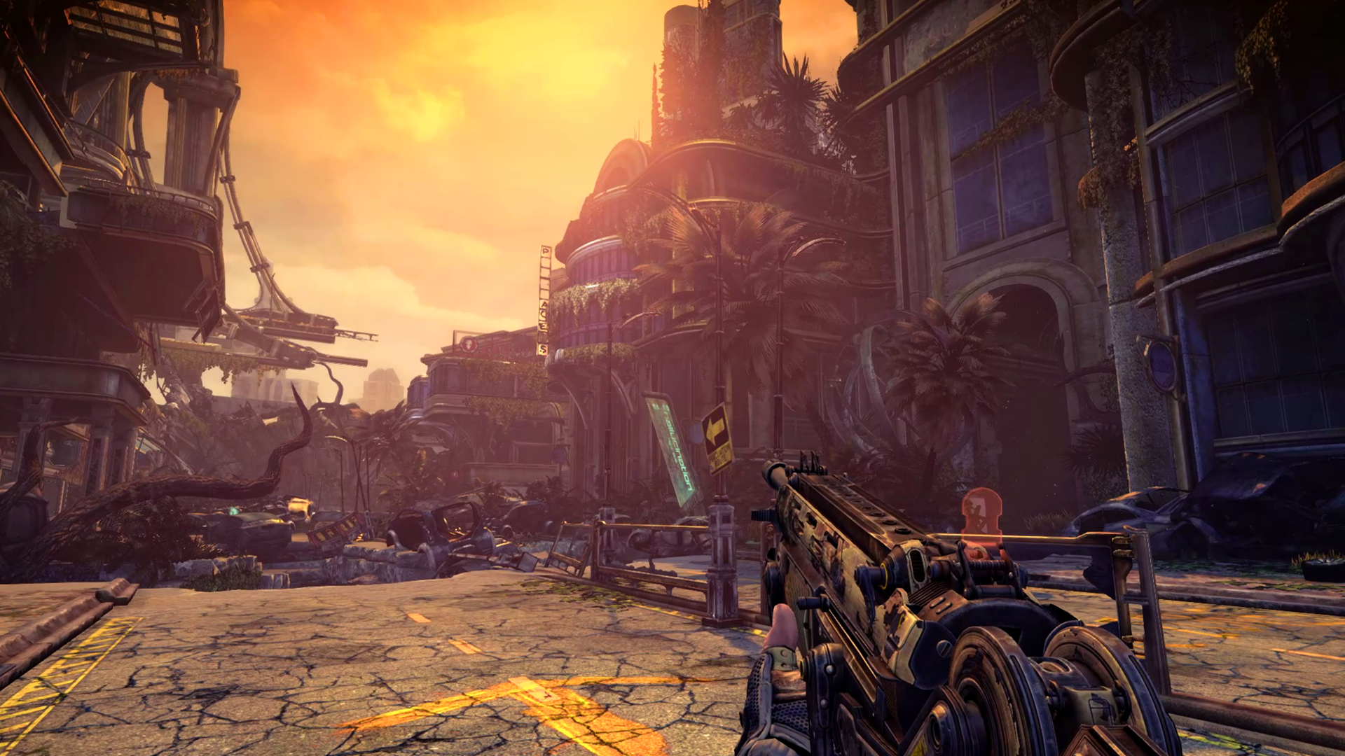 Screenshot for the game Bulletstorm: Full Clip Edition [Update 2 + 1 DLC] (2017) PC | RePack from R.G. Mechanics