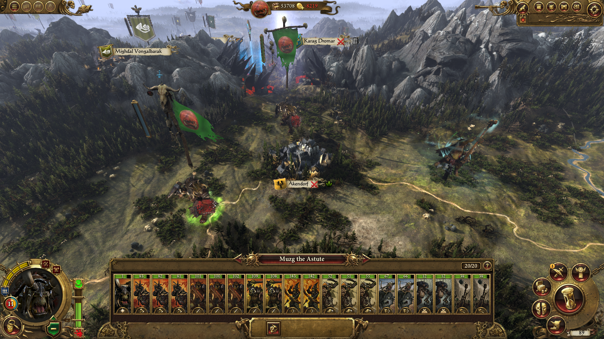 Screenshot for the game Total War: Warhammer [v 1.6.0 + 12 DLC] (2016) PC | Repack от R.G. Механики