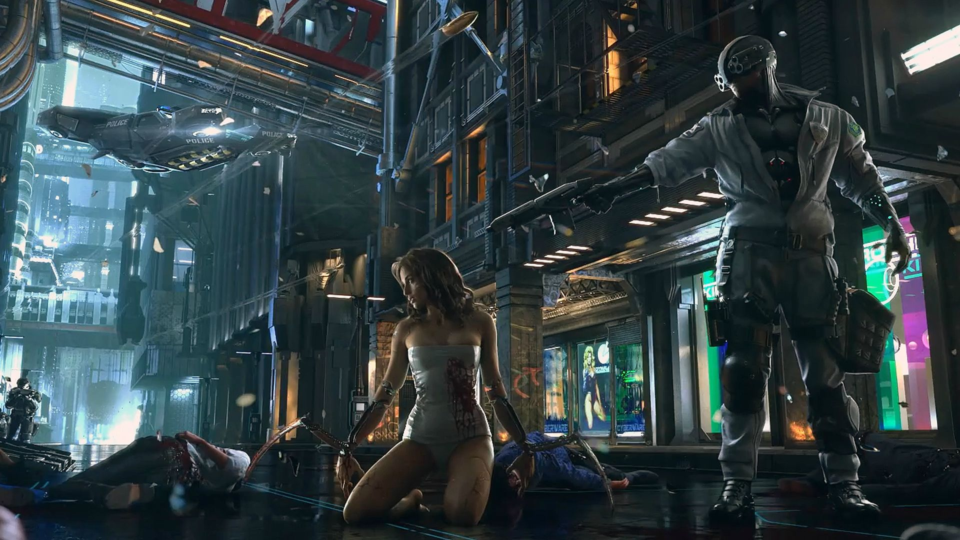 Screenshot for the game Cyberpunk 2077