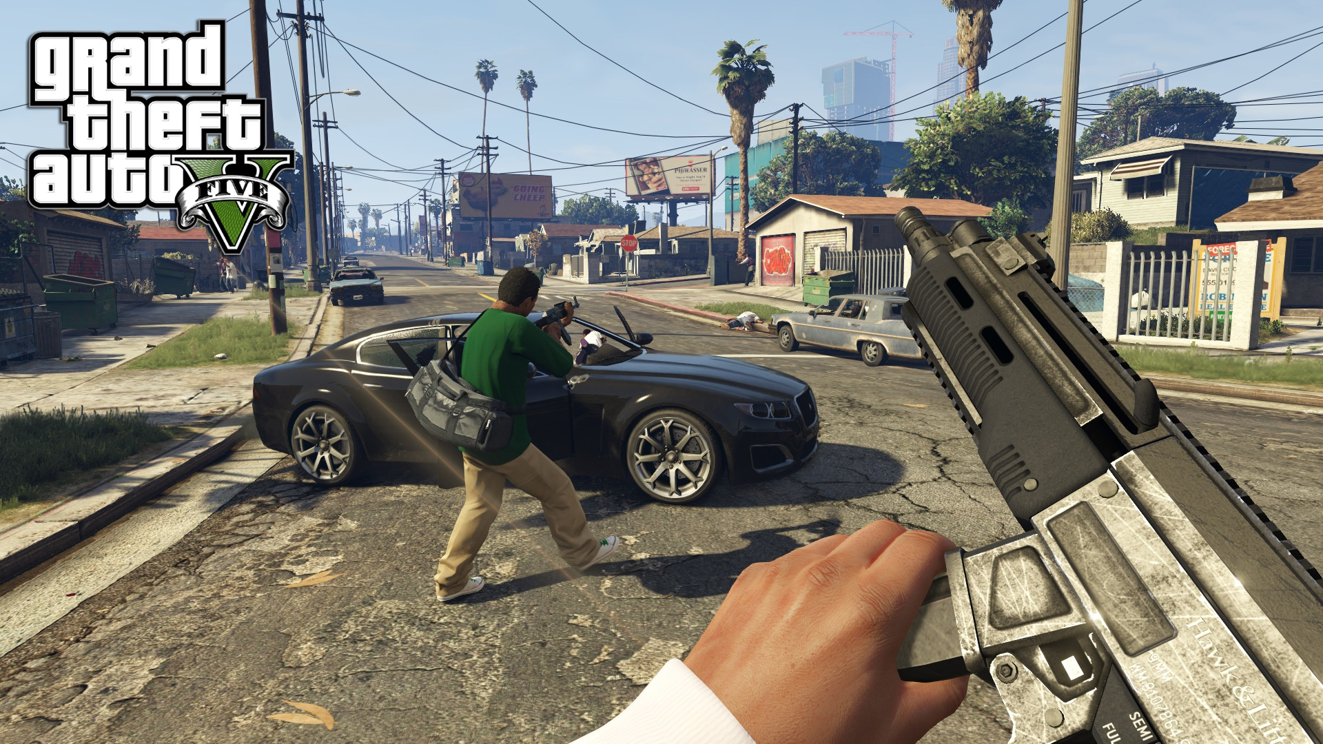 Screenshot for the game GTA 5 / Grand Theft Auto V [v 1.0.1180.1] (2015) PC | RePack от R.G. Механики