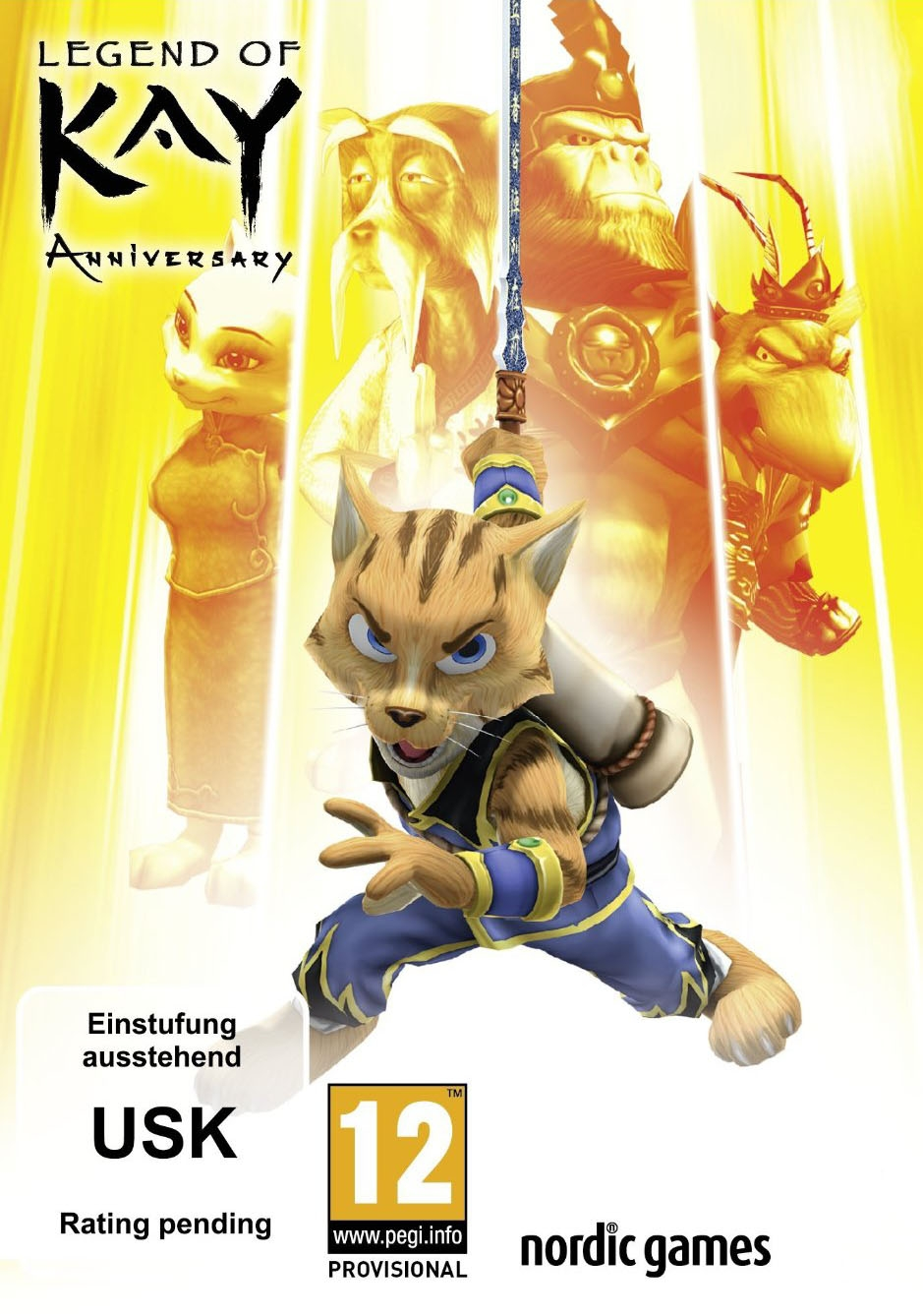 Cover Legend of Kay Anniversary (2015) PC | RePack от R.G. Механики