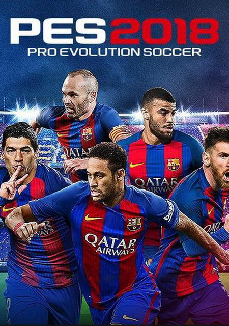 Cover PES 2018 / Pro Evolution Soccer 2018: FC Barcelona Edition