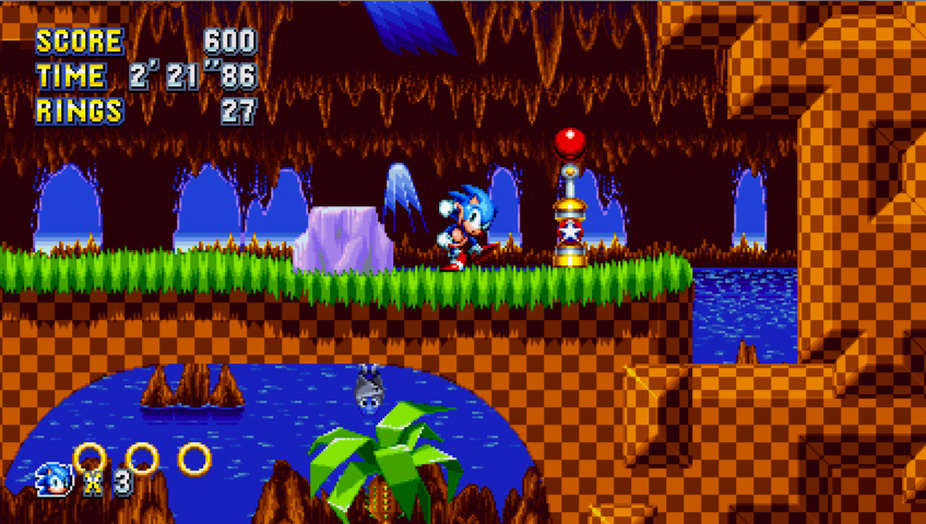 Screenshot for the game Sonic Mania [v 1.06.0503 + DLCs] (2017) PC | RePack by R.G. The mechanics