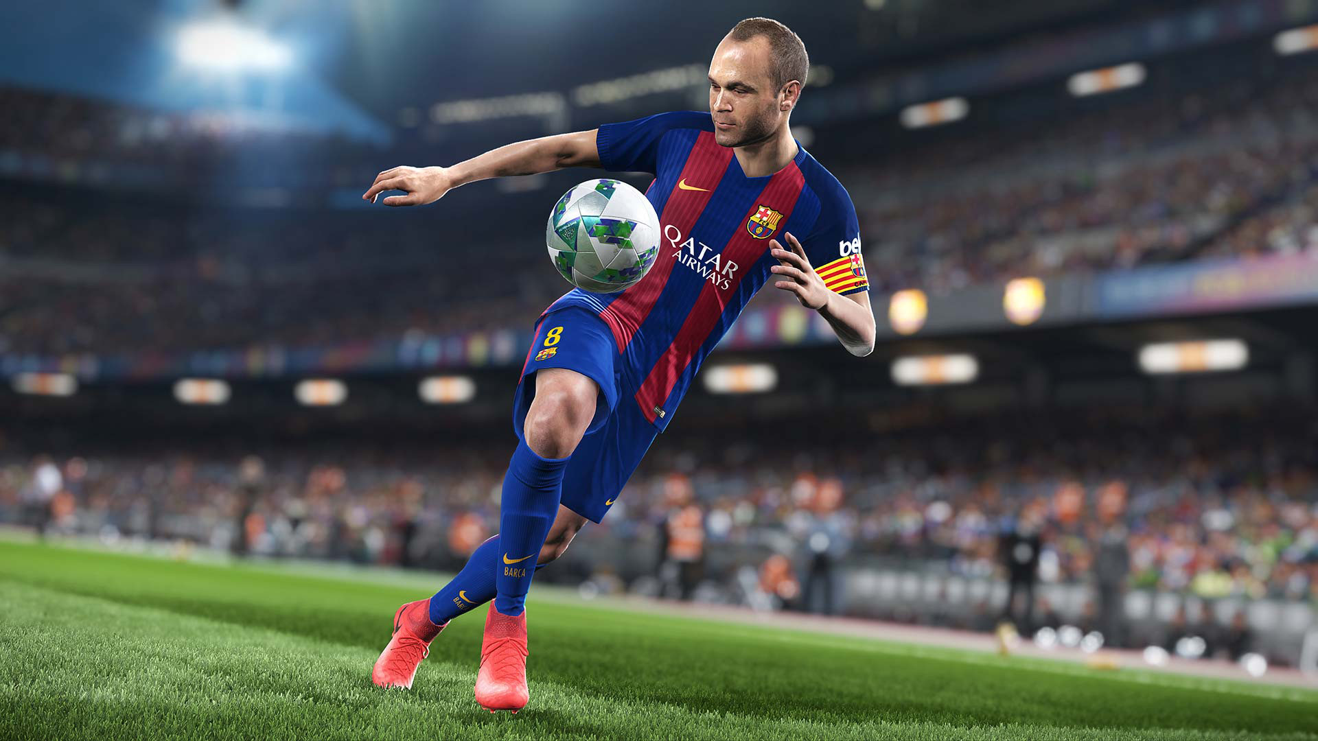 Screenshot for the game PES 2018 / Pro Evolution Soccer 2018: FC Barcelona Edition (2017) PC | RePack от R.G. Механики