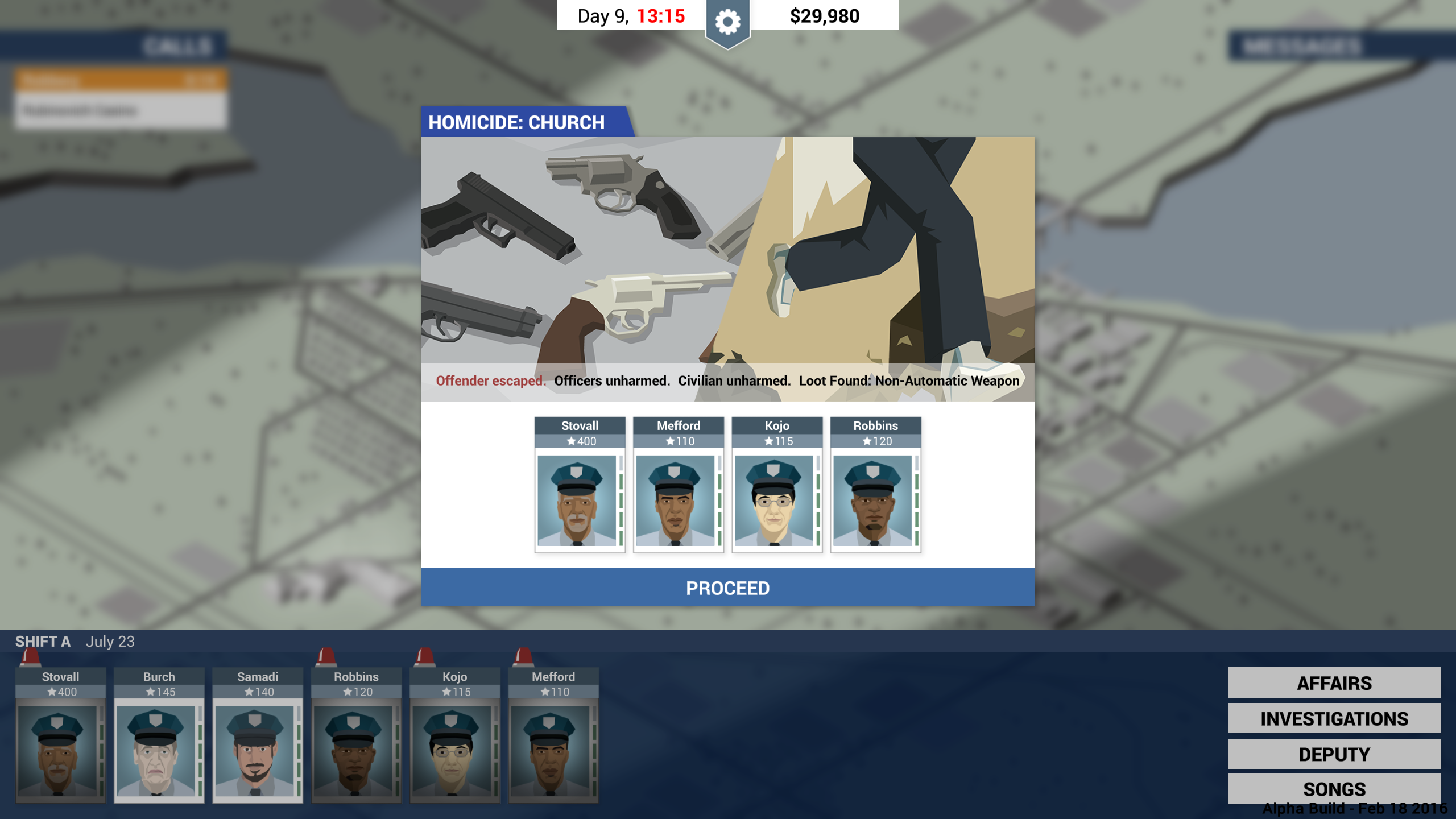 Screenshot for the game This Is the Police [v 1.1.3.0] (2016) PC | RePack от R.G. Механики
