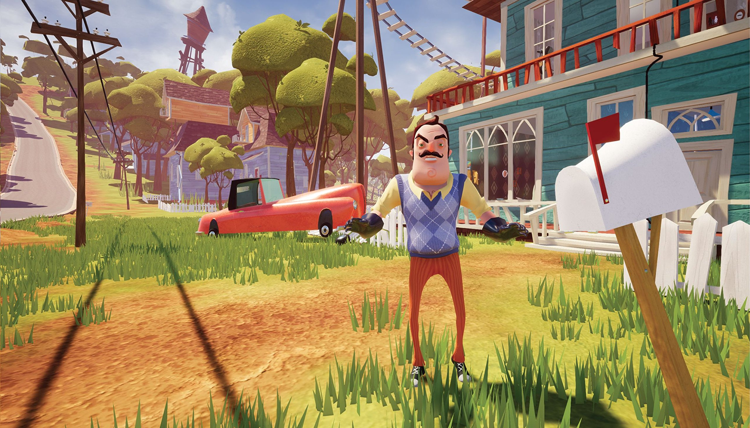 Screenshot for the game Hello Neighbor [v 1.3] (2017) PC | RePack by R.G. The mechanic