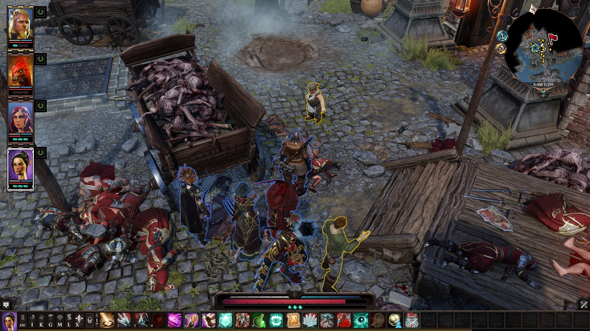 Screenshot for the game Divinity: Original Sin 2 [v 3.0.165.9] (2017) PC | RePack от R.G. Механики