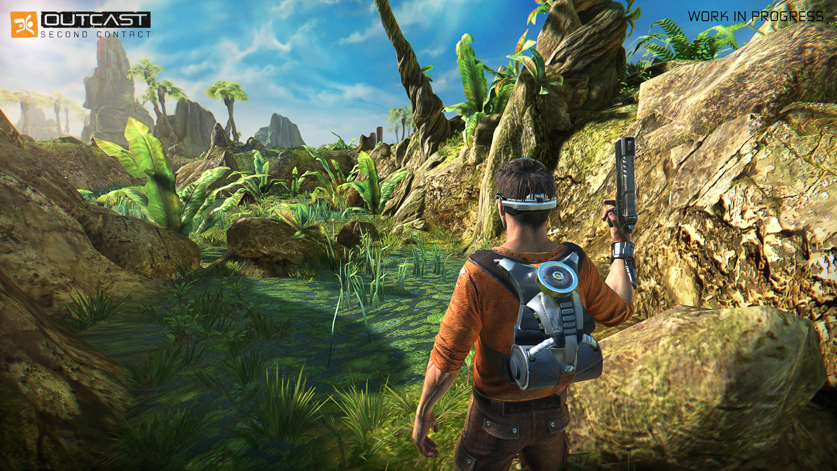 Screenshot for the game Outcast - Second Contact [Update 2] (2017) PC | RePack от R.G. Механики