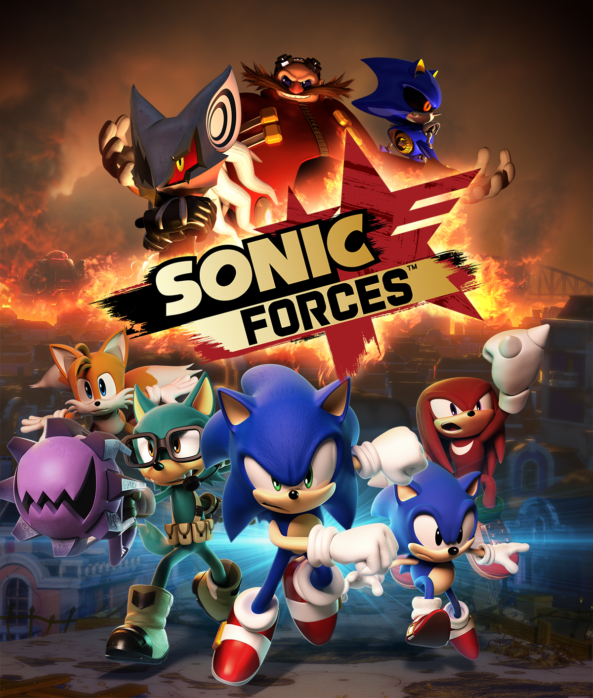 Cover Sonic Forces [v 1.04.79 + 6 DLC] (2017) PC | RePack от R.G. Механики