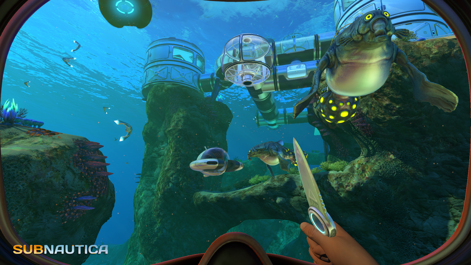 Screenshot for the game Subnautica [60026] (2018) PC | RePack от R.G. Механики