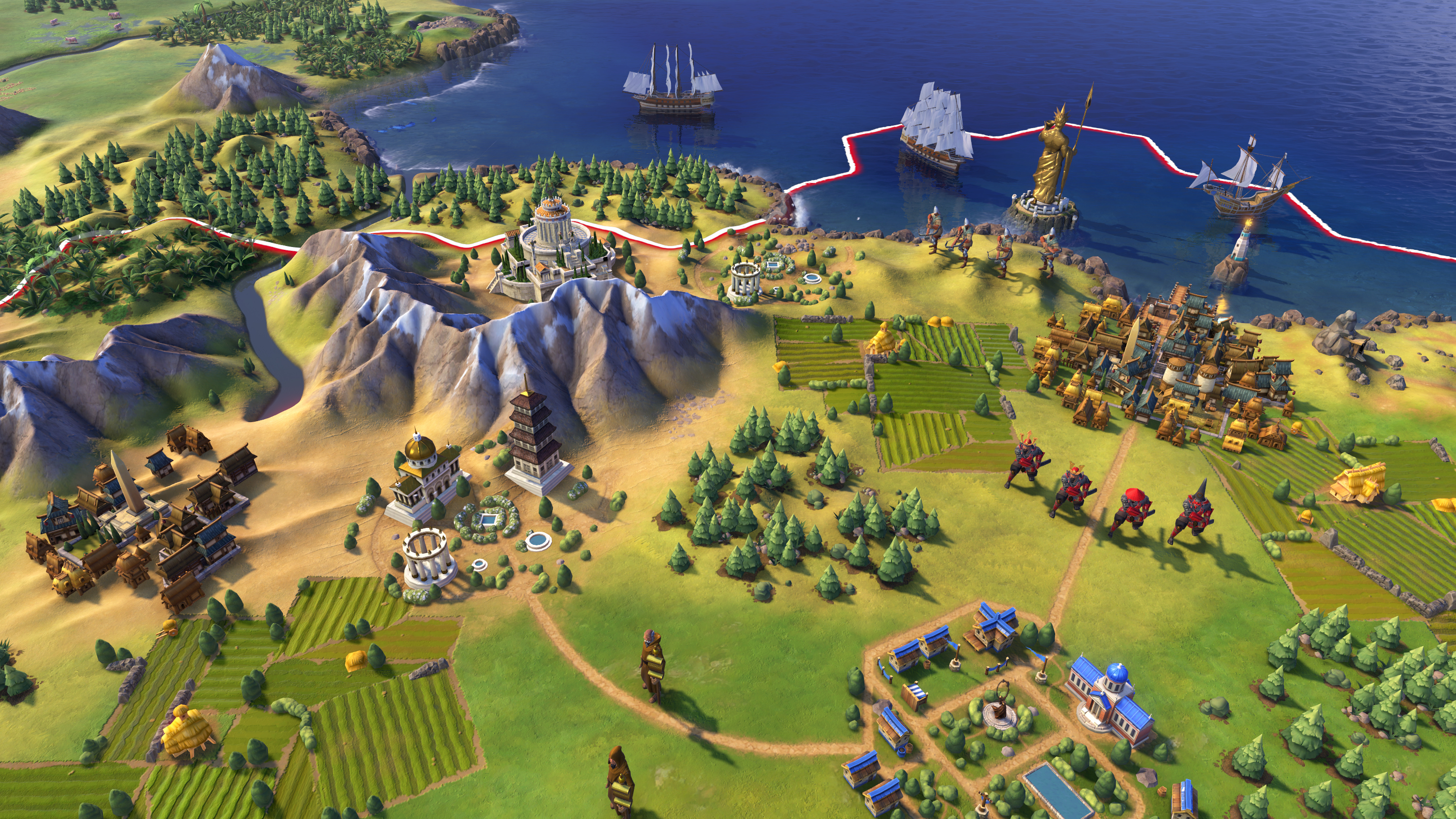 Screenshot for the game Sid Meier's Civilization VI: Digital Deluxe [v 1.0.0.216 + DLC's] (2016) PC | RePack от R.G. Механики