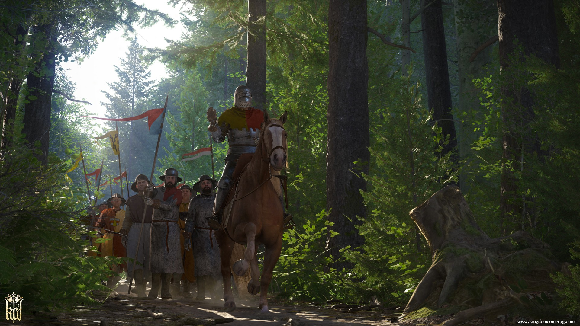 Screenshot for the game Kingdom Come: Deliverance - Royal Edition (v.1.9.6-404-504u (43503) +DLC) (2018) | RePack от R.G. Механики