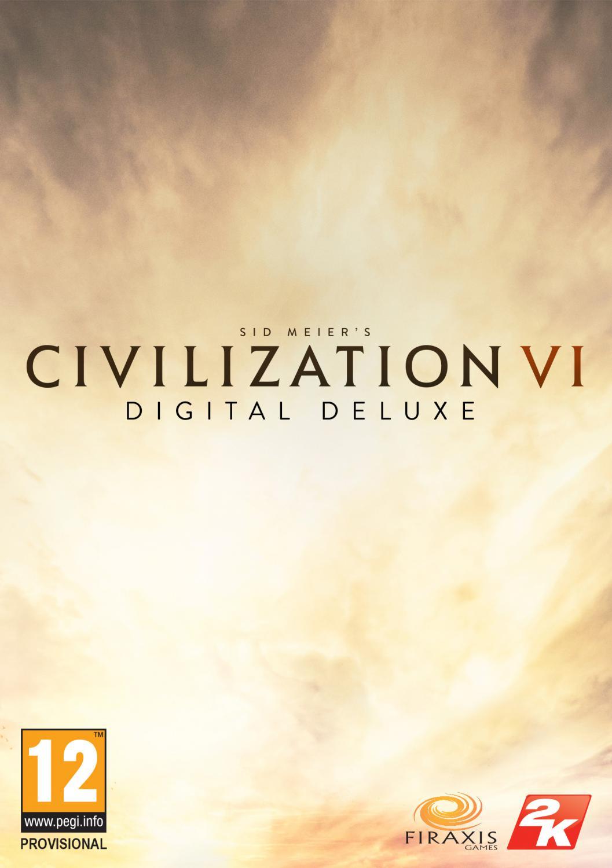 Poster Sid Meier's Civilization VI: Digital Deluxe (2016)