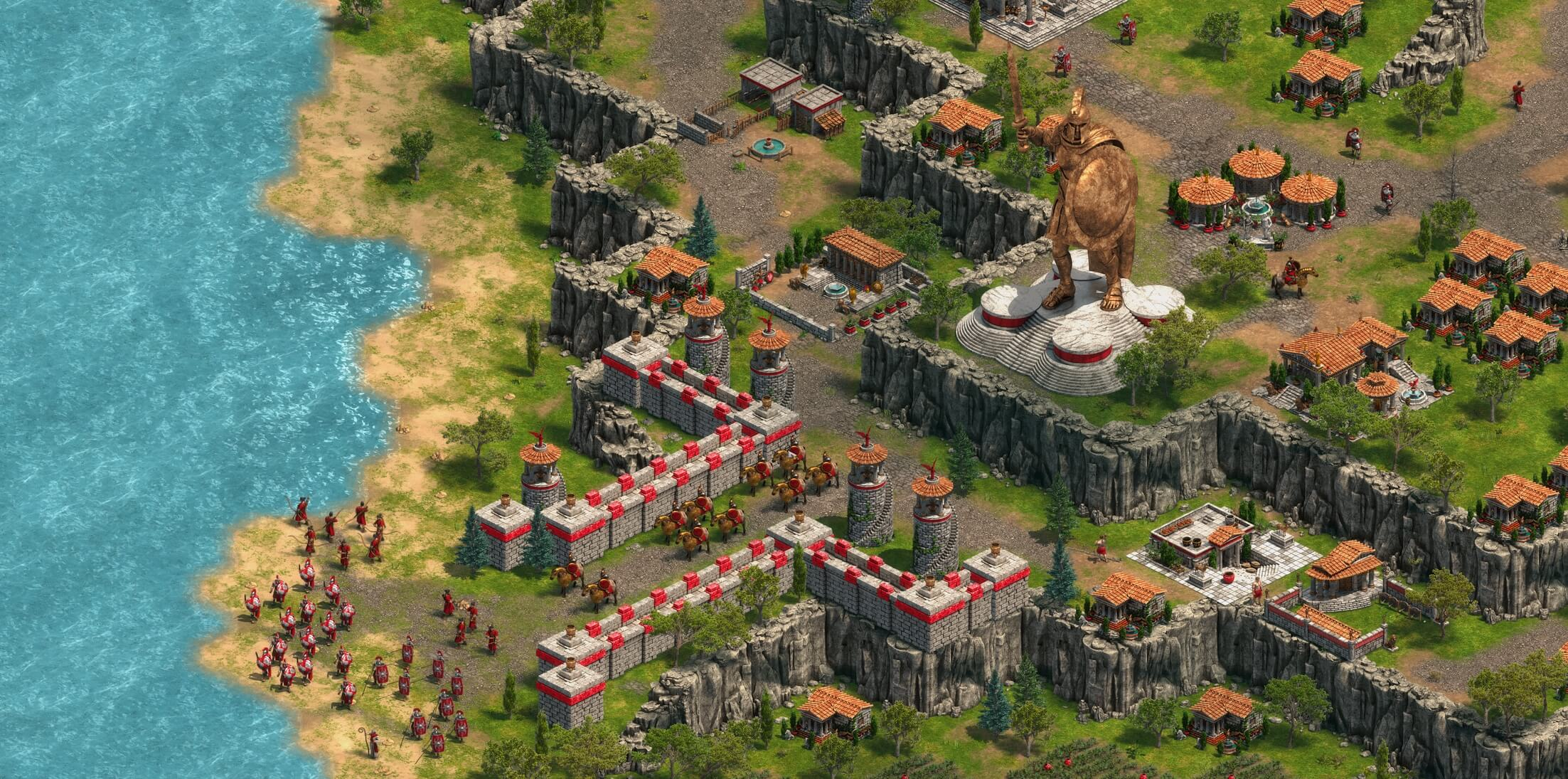 Screenshot for the game Age of Empires: Definitive Edition [v 1.3.5314] (2018) PC | Repack от R.G. Механики