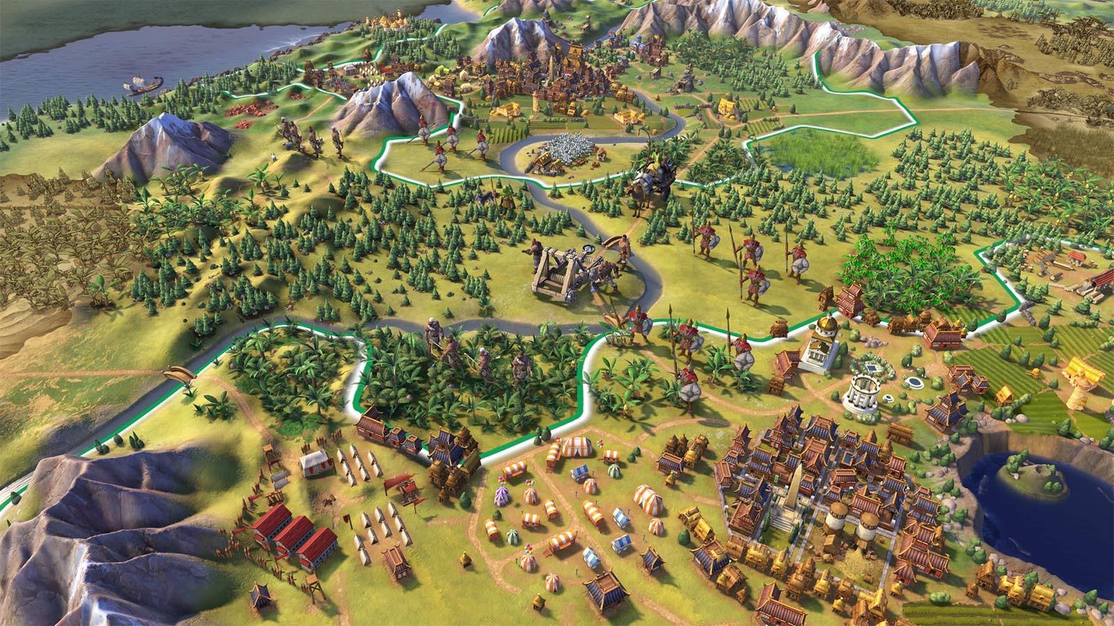 Screenshot for the game Sid Meier's Civilization VI: Digital Deluxe [v 1.0.0.229 + DLC's] (2016) PC | RePack от R.G. Механики