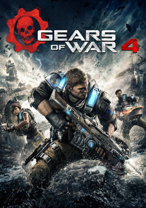 Cover Gears of War 4