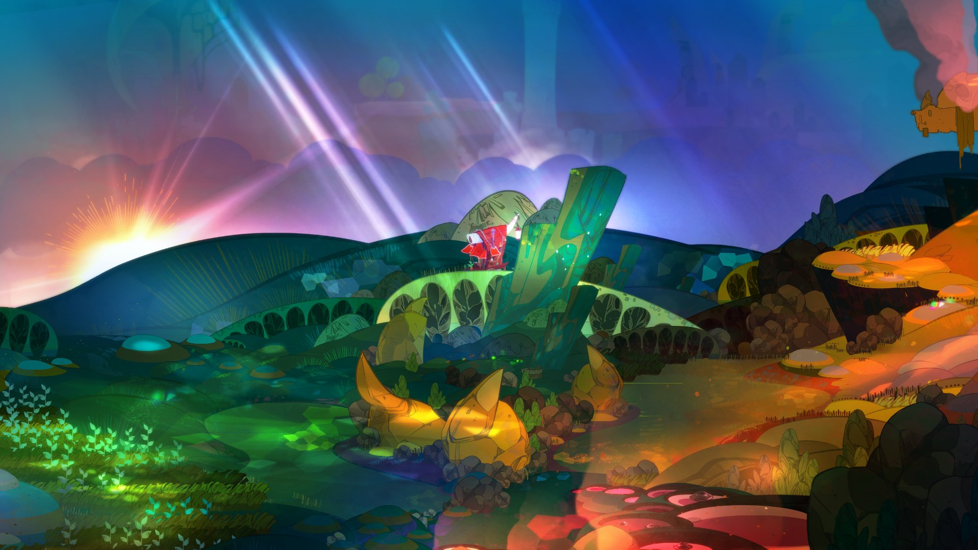 Screenshot for the game Pyre [v 1.50427] (2017) PC | RePack от R.G. Механики